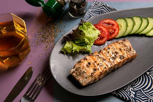 Mixed Herbs Salmon