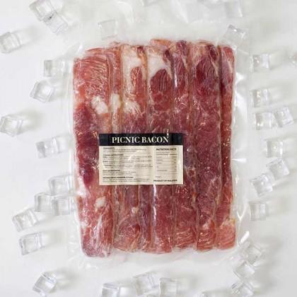 Smoked Picnic Bacon 烟熏前腿培根 (250gm)