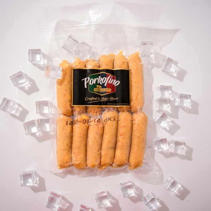 Premium Cheddar Cheese Sausage 优质芝士香肠  (12pcs)