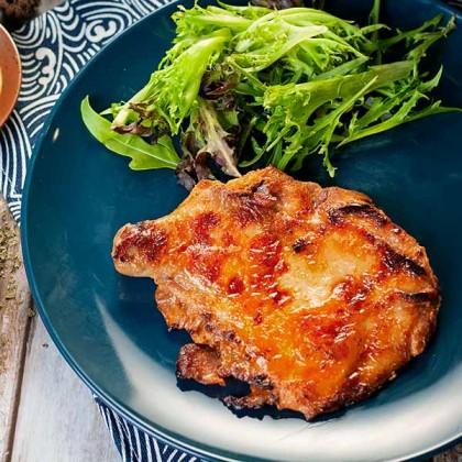Oriental Style Chicken Chop 中式烧烤鸡扒 (Marinated - 1pc)