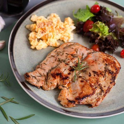 Rosemary Garlic Chicken Breast 蒜蓉迷迭香鸡胸 250gm±