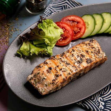 Norway Salmon Fillet Mixed Herbs 混合香料挪威三文鱼 200gm±