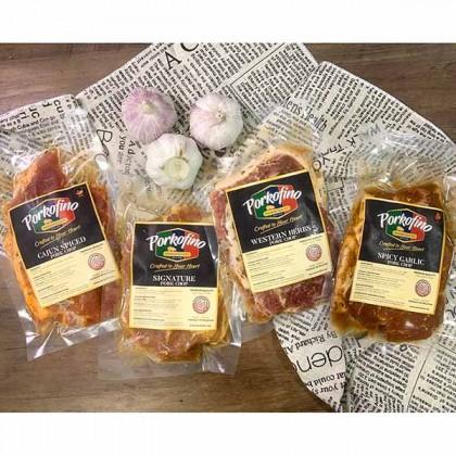 Pork Chop Rosemary Garlic 蒜蓉迷迭香猪扒 (2 pcs) 250gm±