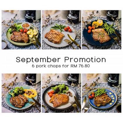 September Pork Chop Package